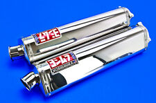 Yoshimura TRS Street Dual Bolt-Ons - Stainless w/Stainless End Caps  1120465