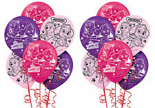 Pink Paw Patrol Girl Latex Balloons ~ Birthday Decoration Party Supplies ~ 12ct