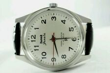 HMT JANATA BIG NUMBERS 17j. Hand winding vintage watch~ WHITE DIAL