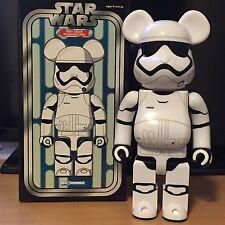 Medicom 400% Bearbrick ~ 2016 Be@rbrick Star Wars First Order Stormtrooper