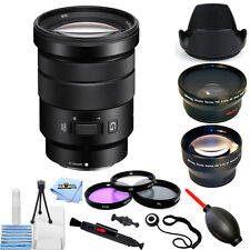 Sony E PZ 18-105mm f/4 G OSS Len!! EVERYTHING YOU NEED BUNDLE!!