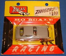 ATLAS HO 1/87 SCALE SLOT CAR AVANTI ZINGER 1299 GREY FACTORY SEALED CARD SCARCE