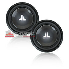 "Two (2) JL AUDIO 12W1v3 SVC 4-Ohm W1v3 Car 12"" Subwoofers 12W1v3-4 Sub 600W New"