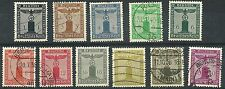 DEUTSCHES REICH 1938 Franchise Stamps used set $44.65