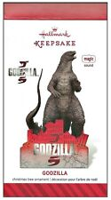 2014 Hallmark Godzilla Sound Magic Ornament!