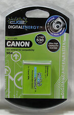 Digital Energy Digital Camera Battery, Canon, NB-4L, 3.7V, 530mAh, Li-On