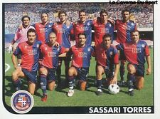 721 SQUADRA SASSARI TORRES ITALIA SERIE C1 STICKER CALCIATORI 2006 PANINI