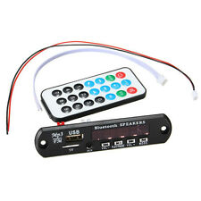 CAR Bluetooth MP3 WMA Decodificador Placa 12V Wireles Audio Module USB TF Radio