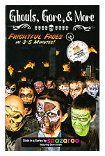 Ghouls, Gore & More Frightful Faces - Face Painting Paint & Book Kit by Snazaroo