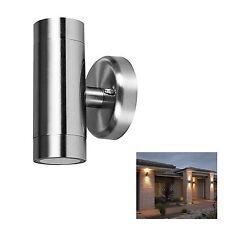 Dual Outdoor Security Porch Outside Wall Door Patio House Garden Single Light