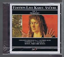 KAREL ANCERL CD NEW PROKOVIEV VOL 3 CONCERTO FOR PIANO 1