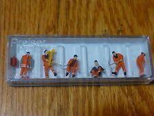 Preiser HO #10444 Railroad Personnel -- Track Workers w/Accessories