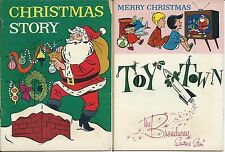 MARCH OF COMICS 326 CHRISTMAS STORY RARE MINI COMIC GIVEAWAY PROMO PROMOTIONAL