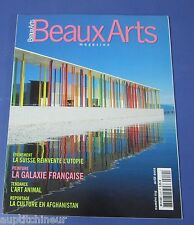 Beaux arts magazine 2002 219 Utopie en suisse l'art animal culture  afghanistan