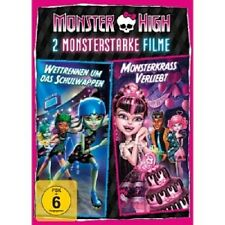MONSTER HIGH - 2  MONSTERSTARKE FILME  DVD ANIMATIONSFILM KINDER NEU