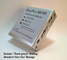 Music on Hold Plus Message MOH Pro Player for Phone System PBX Key KSU USB SD