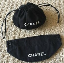 CHANEL Drawstring Jewelry Or Cosmetic Jewelry Pouch