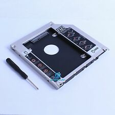 2nd HDD Hard Drive Optical Bay adapter Caddy For Macbook Pro Unibody Tray