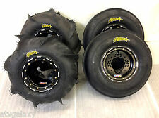 DWT G2 Beadlock Wheels ITP Sand Star Paddle Tires Front Rear Kit Banshee Raptor