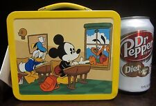 RARE Disney Hallmark Classic Mickey Mouse and Friends Tin Metal Case/Lunch Box