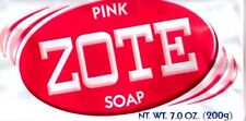 3 PACK - Zote Pink Laundry Soap Bars - 7 oz 200mg !!!NEW!!!