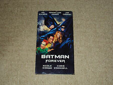 BATMAN FOREVER, VHS MOVIE, EXCELLENT CONDITION