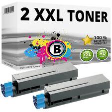 2x XXL TONER für OKI Data B411D B411DN B431D B431DN MB461DN MB471DNW MB491DN