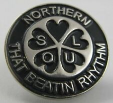 Northern Soul Pin Badge That Beatin Rhythm Lapel Gift Present Mod