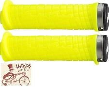 ODI TROY LEE LOCK-ON YELLOW BMX-MTB BICYCLE GRIPS