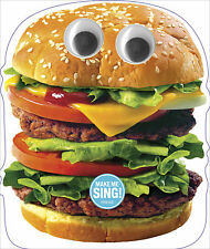 Funny Singing Hamburger Birthday Sound Card Noisy Inventions Greeting Cards