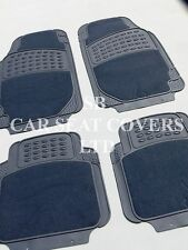 i - TO FIT A TOYOTA STARLET CAR, DELUXE FLR MATS, 2210 GREY - 4 PIECE SET