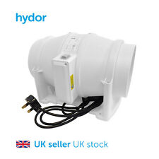 Hydor Commercial 150mm Mixed Flow In-Line Extract Fan HIMF Hydroponics