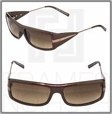 PRADA Brown Pearl Bronze Square Metal Sunglasses Unisex PR08IS SPR 08I