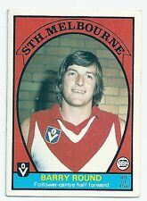 """1978 Scanlens (49) Barry ROUND South Melbourne """" """""""