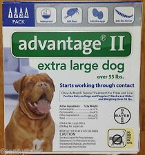 K9 Advantage II / 100 Flea Lice Medicine for Large Dogs Pack K-9 4 Month Supply