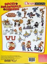 Bernina Artista Embroidery Machine Card ROCKY & BULLWINKLE & FRIENDS