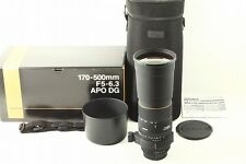 (3251) Excellent Condition SIGMA APO 170-500mm F5-6.3D DG for Nikon from Japan
