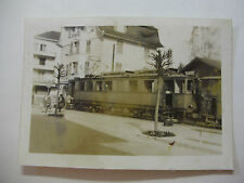 Suis368 - c1940s NYON St CERGUE & MOREZ Light Railway TRAM No2 Photo Switzerland