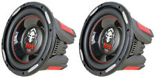 "NEW (2) 15"" DVC 2500w Subwoofer Bass Speakers.Woofer.Car Audio Sub.Dual Voice."