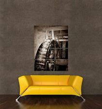 GIANT PRINT POSTER PHOTO INDUSTRIAL MILL WHEEL VINTAGE WATER POWER PDC045