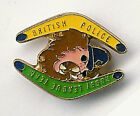 BRITISH POLICE TEAM TOUR OF AUSTRALIA ???? RUGBY LEAGUE ENAMEL PIN BADGE BF 16mm