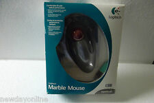 Logitech USB PS/2 Optical Marble Mouse 4-Button w/Scroll-Wheel 904360-0403 NEW