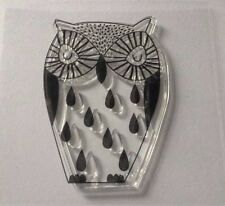 Owl  Bird New Transparent Clear Rubber Stamp Seal Silicone Cards UK stocked
