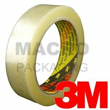 24 x Rolls of 3M Scotch CLEAR Packing Tape 25mm x 66m
