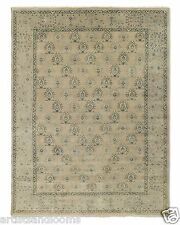 Restoration Hardware Yata Linen Persian hand Knotted Rug 5x7 Wool $1999 MSRP