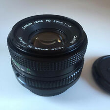 CANON FD 50mm f1.8 Lens *STUNNING BOXED*