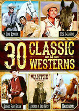 30 Classic Westerns (DVD; 2 Disc Set) Lone Ranger, US Marshall, Legends Old West