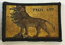 Lion Morale Patch Milspec Tactical Aslan Narnia Military Warrior