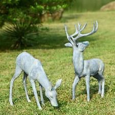 Deer Pair Garden Statue/Sculpture by SPI Home/San Pacific International 33686