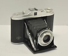 Vtg. AGFA ISOLETTE (Jsolette) 120 Film 6x6 w/ Agnar 4.5/85 Lens Made In Germany